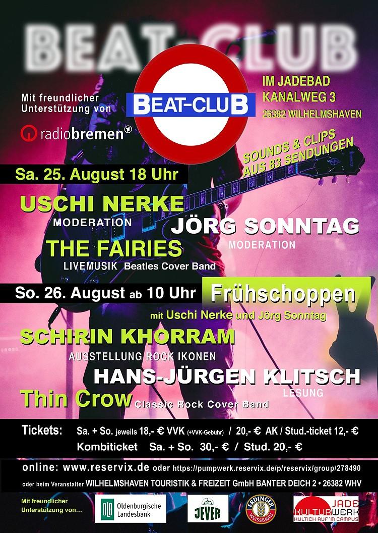 Beat Club Wochenende im alten Jadebad in Wilhelmshaven