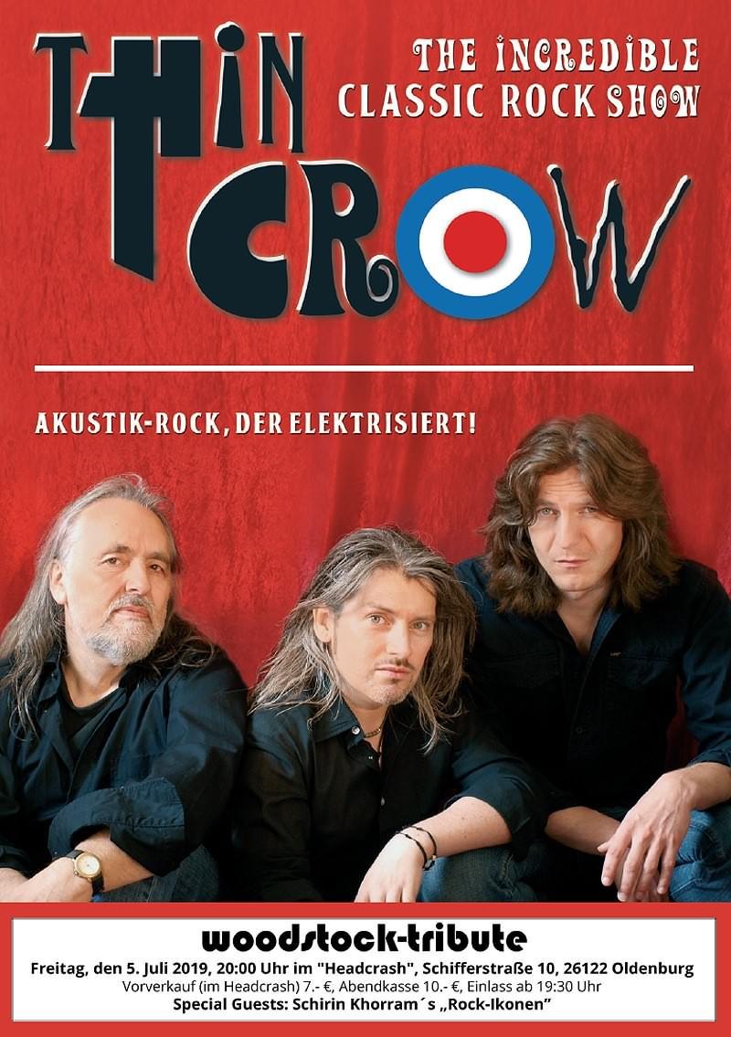 Woodstock-Tributes I mit Thin Crow und Schirin Khorram