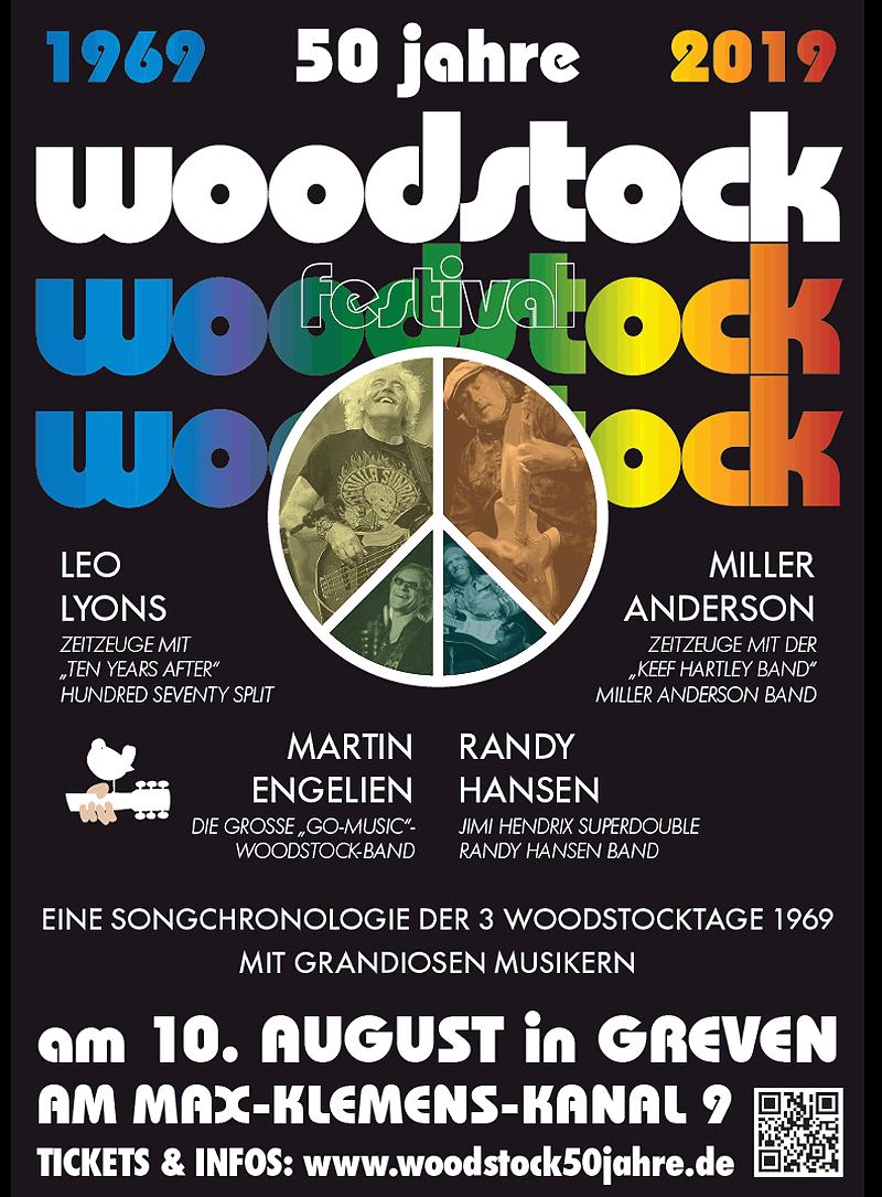 Ein Tag Woodstock-Feeling in Greven - 50 Jahre Woodstock-Festival