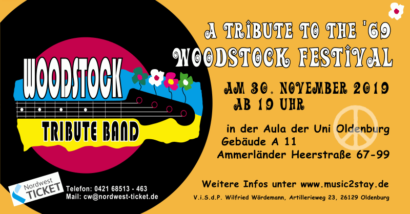 Woodstock-Tribute III mit der Woodstock Tribute Band